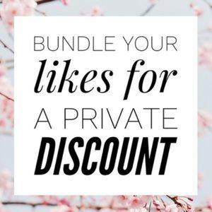 Bundle Your Item Selections  For Bundle Discount
